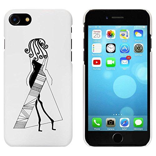 Blanc 'Abstraite Modèle' étui / housse pour iPhone 7 (MC00058224)