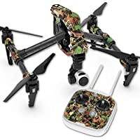Skin For DJI Inspire 1 Quadcopter Drone – Buck Camo | MightySkins Protective, Durable, and Unique Vinyl Decal wrap cover | Easy To Apply, Remove, and Change Styles | Made in the USA