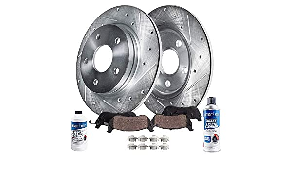 302mm Rear Performance Drilled Slotted Brake Rotor 53043 For Jeep Dodge Chrysler
