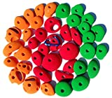TREADWALL PACK #1 (SET OF 40) | Climbing Holds | Green, Orange & Red