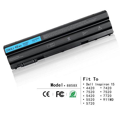 ZWXJ Laptop Battery 8858 X 11.1V 48WH For Dell Inspiron 15