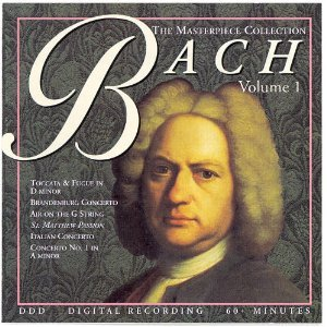 The Masterpiece Collection: Bach, Vol. 1