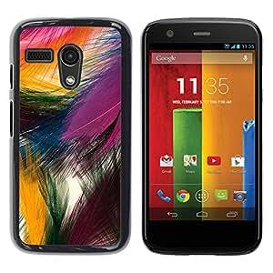 For Motorola Moto G1 / X1032 Case , Easter Festive Colorful Bird Nature - Diseño Patrón Teléfono Caso Cubierta Case Bumper Duro Protección Case Cover Funda