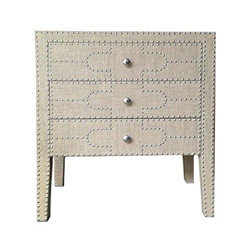 Benzara HRT-43696 Appealing Wood Cabinet