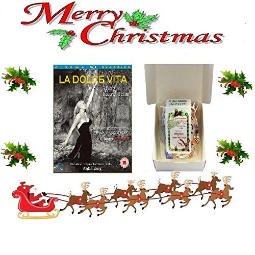 - La Dolce Vita [Blu-ray] [ [NON USA FORMATTED VERSION REGION 2 DVD] + Ye Old Cornish Christmas Sweets Gift Bag ()