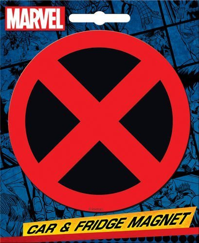 - Ata-Boy Marvel Comics Die-Cut X-Men Logo Giant Magnet by Ata-Boy