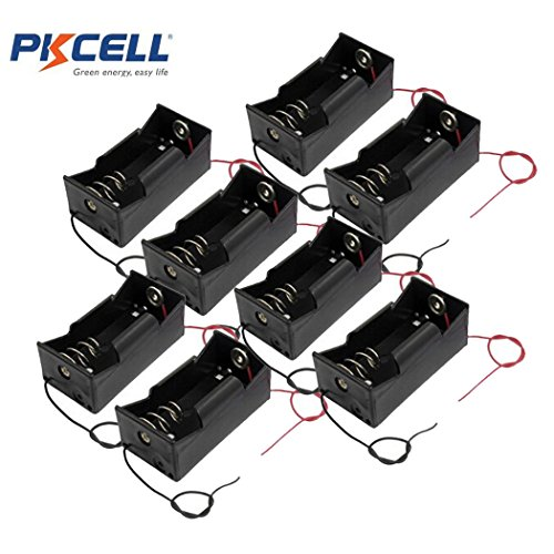 1 Slot D Cell Battery Holder With Two Wires (8)