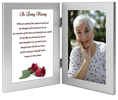 Woman Sympathy Gift - In Loving Memory of a Wife, Mother, Grandmother, Sister, Daughter - Add Photo