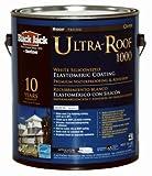 GARDNER-GIBSON 1/20/5530 Black Jack 3.6 Quart Ultra-Roof 1000 10 Year White Siliconized Elastomeric Roof Coating