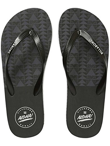 Billabong Sandals Men Tides Hawaii Sandals Black 8ZHmL