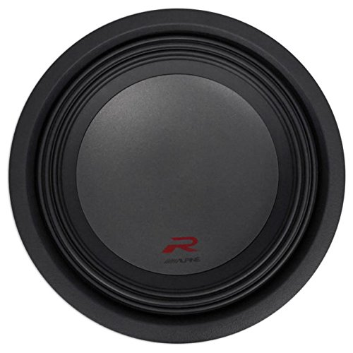 Alpine Type R 12 Inch 2250 Watt Max 4 Ohm Round Car Audio Subwoofer | R-W12D4