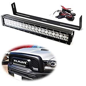 Ijdmtoy Front Grille 20 Inch Led Light Bar Kit For 2015