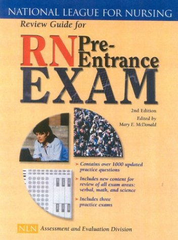 Review Guide for RN Pre Entrance Exam, 2nd (North Entrance)