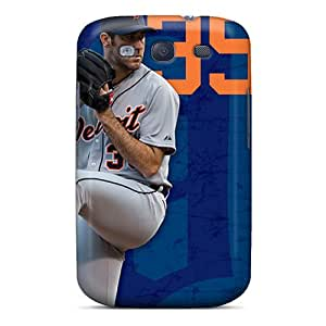 Samsung Galaxy S3 QJs15242oTlo Allow Personal Design Attractive Detroit Tigers Image Scratch Protection Hard Phone Case -NataliaKrause