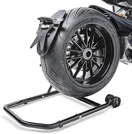 adaptadore incl. ConStands Single por Basculante Monobrazo Caballete Trasero Honda CB 1000 R 08-16 black mate