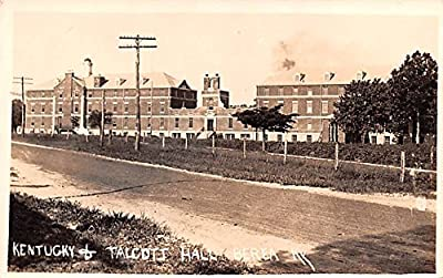 Kentucky & Talcott Hall Berea, Kentucky postcard
