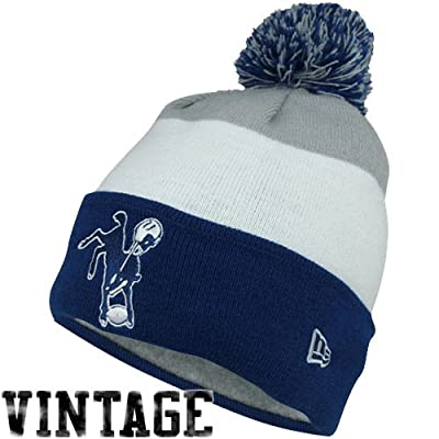 Men's New Era Indianapolis Colts On Field Classic Knit Hat One Size Fits All