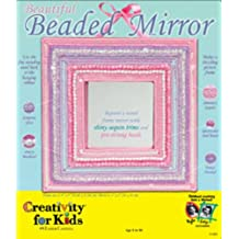 Creativity for Kids: Beautiful Beaded Mirror