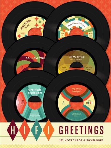 Hi-Fi Greetings: 12 Cards And Envelopes