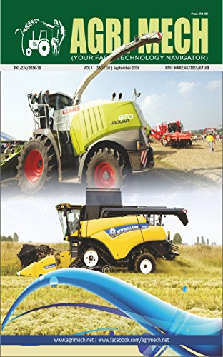 AGRI MECH: September 2016 (Digitization and compatibilities)