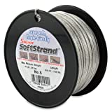 SuperSoftstrand Size 5 - 500-Feet Picture Wire Vinyl Coated Stranded Stainless Steel