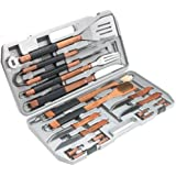 Mr. Bar-B-Q 18-Piece Stainless-Steel Grill Tool Set