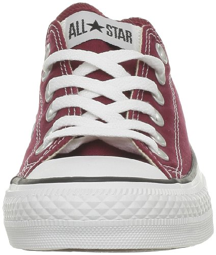 Converse Chuck Taylor All Star Core Ox, Zapatillas Unisex Rojo (Glitter Red)