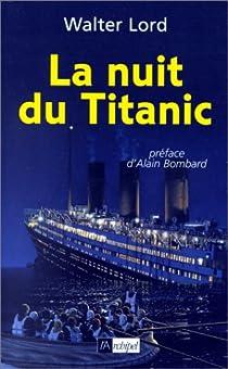 La nuit du Titanic par Lord