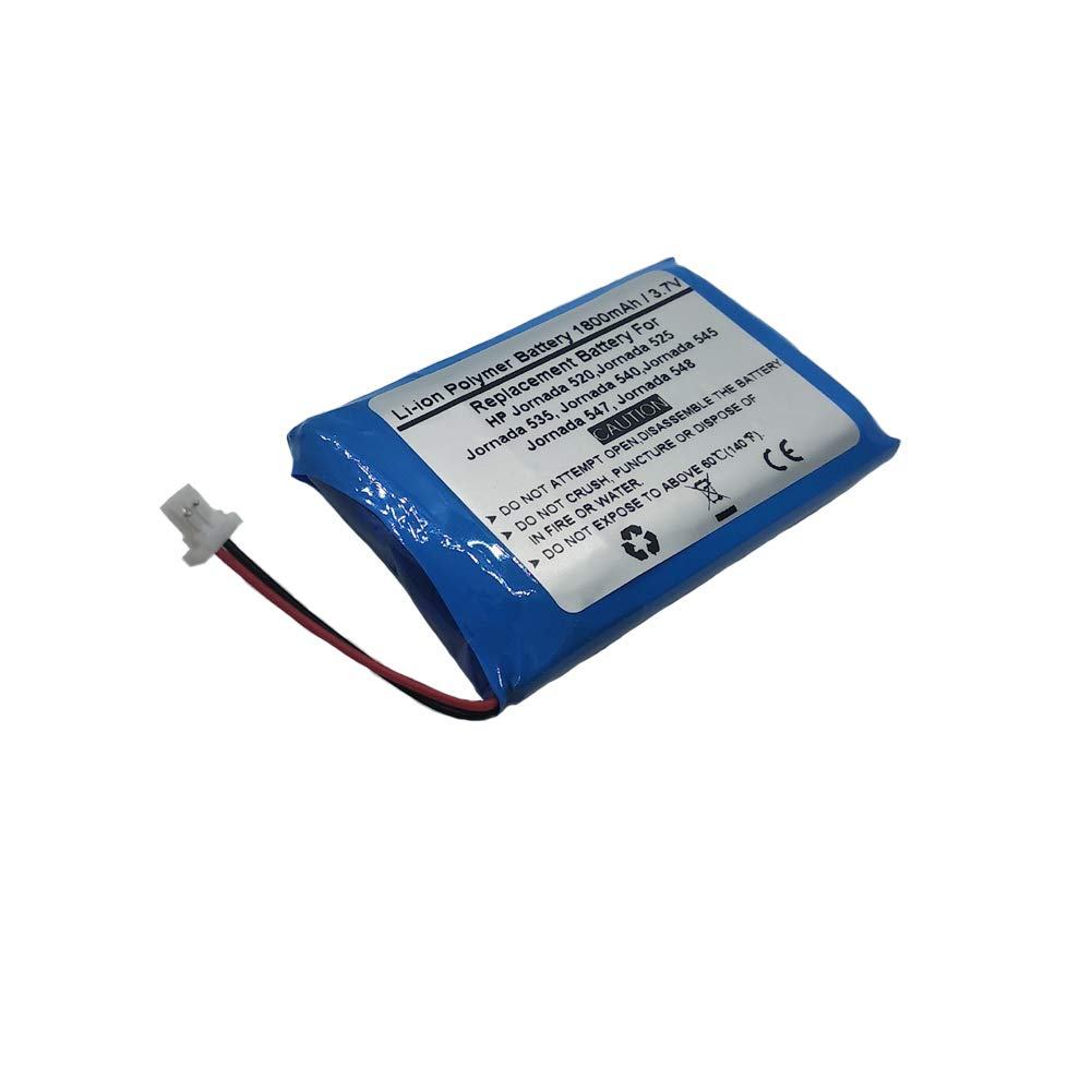 1800mAh/3.7V Replacement Battery for PDA HP Jornada 520, 525, 535, 540, 545, 547, 548, HP 1JP147007063,F1798 by Starnovo (Image #1)