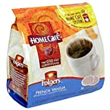 Folgers Home Cafe French Vanilla, K-Cup for Keurig Brewers, 96 Count