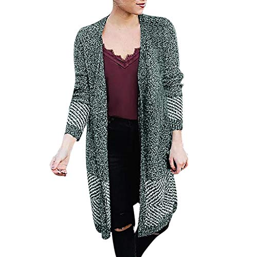 KpopBaby Plus Size Womens Long Sleeve T-Shirt Tops Cardigan Knitting Sweater BlouseBlazer Jumpsuit Overall Romper Pullover