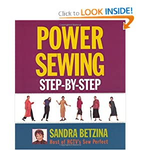 Power Sewing Step-By-Step Sandra Betzina