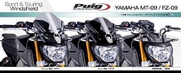 grigio Puig 6859H parabrezza per Yamaha MT-09 2013-2014 M colore taglia