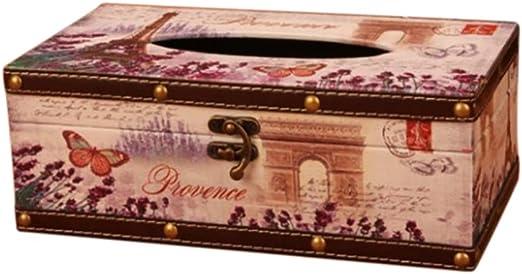 Da.Wa Tissue Box Set Porta Papel Higiénico Tissue Box Holder Toallitas Tapa Cubre Toallitas Húmedas Holder Caja para Toallitas Faciales Arco del Triunfo: Amazon.es: Hogar