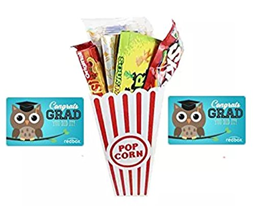 Congratulation's Graduate Movie Night Gift Basket ~ Includes