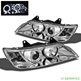 1996-2002 BMW Z3 Angle Eyes Twin Halo Projector Headlights Head Lights Lamp Pair Left+Right 1997 1998 1999 2000 2001