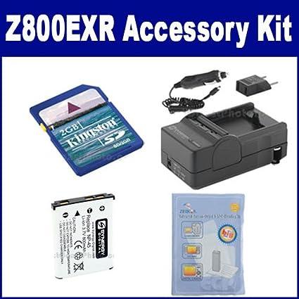 e20452dfb Amazon.com   Fujifilm FinePix Z800EXR Digital Camera Accessory Kit  includes  SDNP45 Battery
