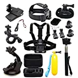 DoPlus Essential Accessories Bundle for AKASO EK7000 AKASO EK5000 GoPro HERO5 GoPro Hero Black Silver GoPro Hero 5 Session APEMAN A80 SJ Cam Sport Camera Action Camera
