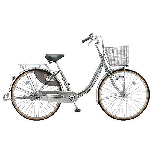 ミヤタ(MIYATA) シティサイクル 自転車 クォーツエクセルライト DQXU63L8 (OS68) ミラーシルバー B077NSD6SR