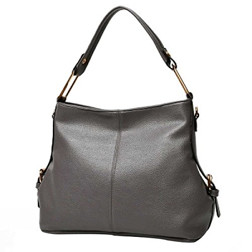 Le Donne La Moda Il Sacchetto Di Spalla Borsa Pacchetto  Diagonale,Grey-OneSize