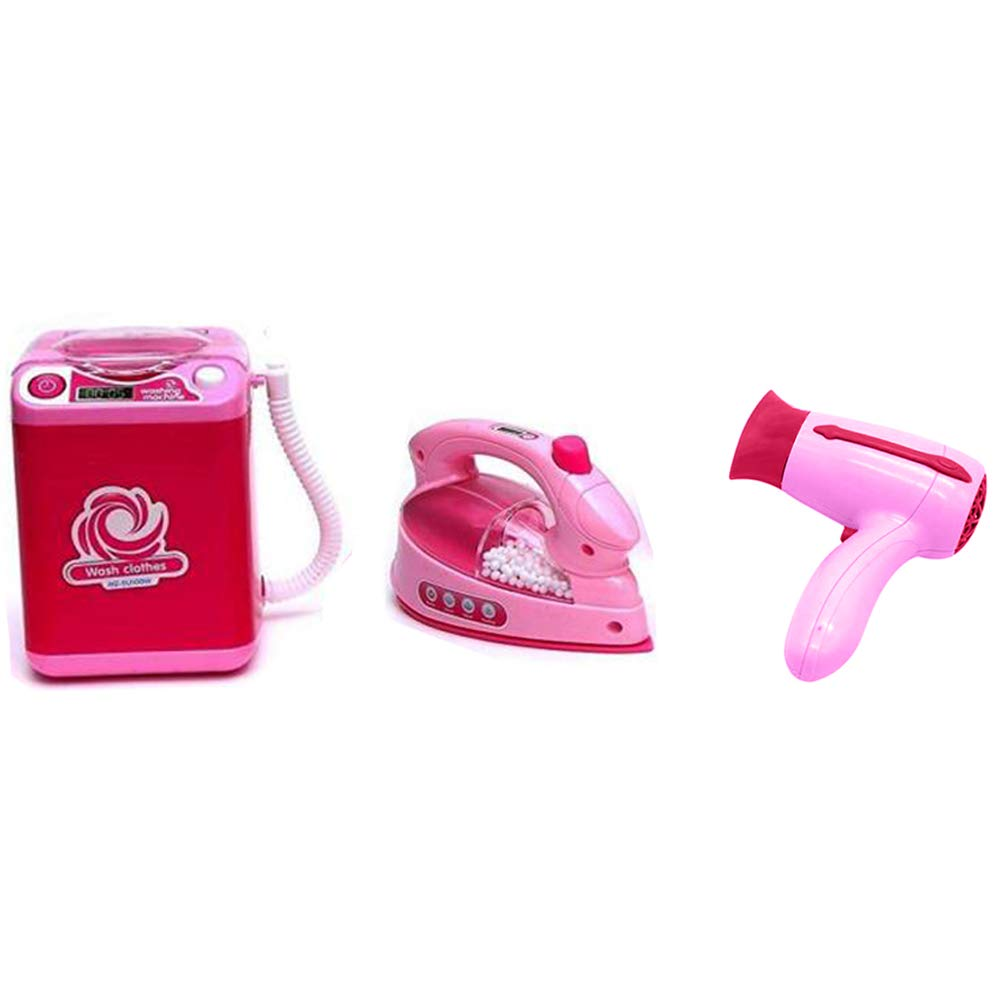 Toysery Mini Household Appliances Toy Set Material | Equipped with Lights | Easy to Play | Promote Creativity and Learning Skills of Kids | Battery Operated | Dream Gift for Girls by Toysery (Image #5)