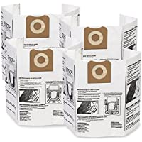 WORKSHOP Wet Dry Vacuum Bags WS32200F2 Fine Dust Collection Shop Vacuum Bags (2-Pack / 4 Shop Vacuum Bags), Bag Filter For WORKSHOP 12-Gallon To 16-Gallon Shop Vacuum Cleaners