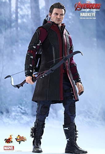 Hot Toys Hawkeye Mms289 Avengers AGE of Ultron Hawkeye 1/6th Scale Collectible Figure