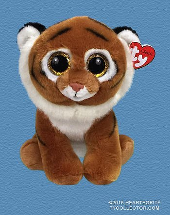 Ty Classic Beanies Tiggs the Bengal Tiger 25cm Medium Buddy Size 9 by TY Classic