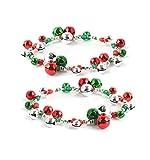VK Accessories Christmas Bracelet Snowman Charm Tree Reindeer Ornament 4 Styles (double bracelet)