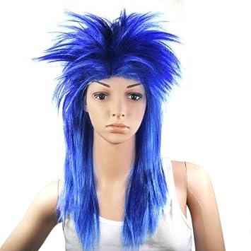 55 cm pour femme Glam Punk Crazy Rock rockeur
