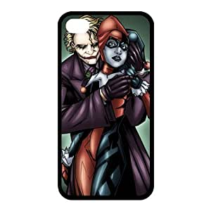 Customize Your Own Design Apple iphone4 4S Back Case Joker Harley Quinn JN4S-1649 by ruishername