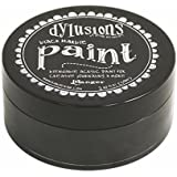Ranger Dyan Reaveley's Dylusions Paint, 2 oz, Black Marble