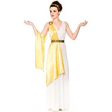 ce87ed832fe9d Adult Female Greek Goddess Toga Fancy Dress Costume