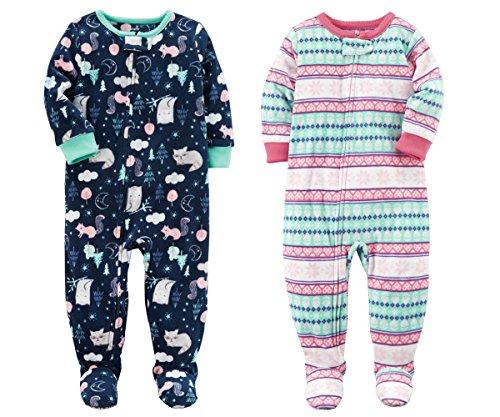 Carter's Fleece Footed Pajamas - 3